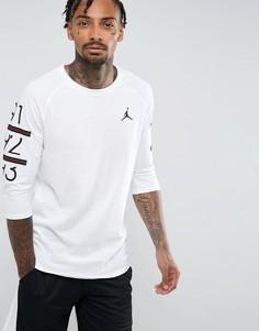 Белая футболка с рукавами реглан Nike Jordan 6 Times 862423-100 - Белый