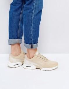 Светло-коричневые замшевые кроссовки с рисунком змеиной кожи Nike Air Max Jewell Premium - Мульти