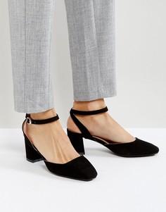 Туфли на среднем каблуке с ремешком на щиколотке Glamorous - Черный
