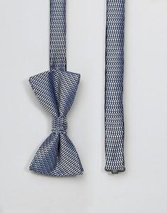 Черный галстук-бабочка Jack & Jones - Черный
