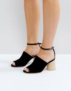 Босоножки на каблуке ASOS TAPER - Черный