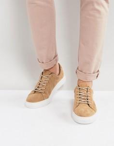 Замшевые кроссовки Vagabond Paul - Бежевый