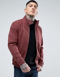 Бордовая куртка Харрингтон Farah McGregor - Красный