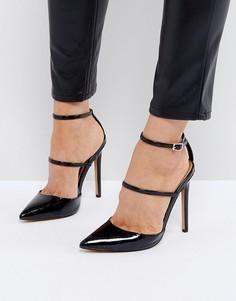 Туфли на каблуке с заостренным носком ASOS PICTURE PERFECT - Черный