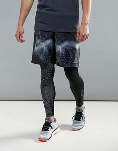 Спортивные шорты с принтом Reebok Speedwick BQ3529 - Черный