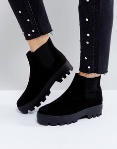 Ботинки челси ASOS ARENA - Черный