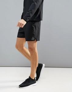 Черные беговые шорты Reebok 7 дюймов BR2053 - Черный