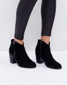 Замшевые ботинки ASOS EMMIE - Черный