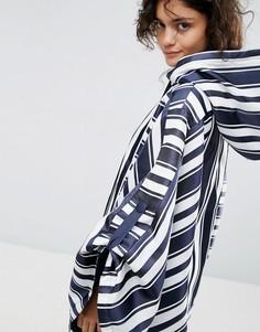 Пиджак-кимоно в полоску ASOS WHITE - Мульти