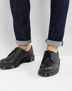 Туфли из зернистой кожи Dr Martens Made In England 1461 - Черный