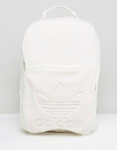 Кремовый рюкзак с карманом из искусственного меха adidas Originals BQ8120 - Бежевый