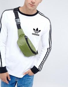 Фестивальная нейлоновая сумка-кошелек на пояс 7X - Зеленый
