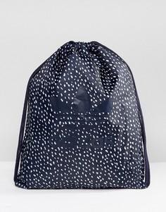 Спортивная сумка с графическим принтом adidas Originals BQ1505 - Темно-синий
