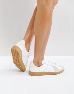 Белые кроссовки adidas Originals BW Army - Белый