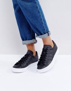 Черные кроссовки adidas Originals Court Vantage - Синий