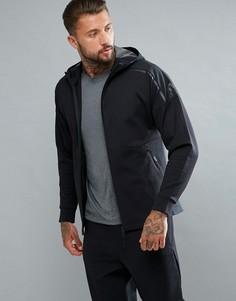 Худи черного цвета adidas Athletics ZNE BR6609 - Черный