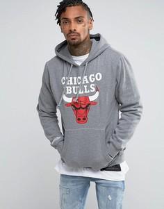 Худи Mitchell & Ness NBA Chicago Bulls - Серый