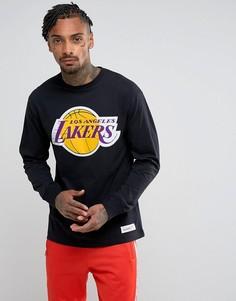 Лонгслив Mitchell & Ness NBA L.A Lakers - Черный