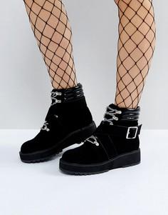 Походные ботинки ASOS ATHLETE - Черный