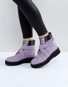 Походные ботинки ASOS ATHLETE - Фиолетовый