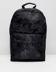 Рюкзак с камуфляжным принтом Spiral - Черный