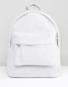 Серый классический рюкзак из искусственного меха ограниченной серии Mi-Pac - Серый