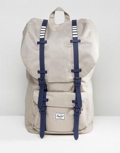 Рюкзак цвета хаки Herschel Supply Co. Little America - 25 л - Коричневый