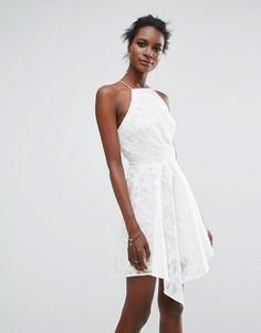 Однотонное платье мини Keepsake - Кремовый