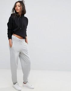 Джоггеры с логотипом Calvin Klein Jeans - Серый