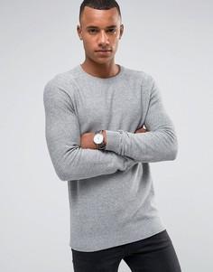 Фактурный джемпер Jack & Jones Premium - Серый