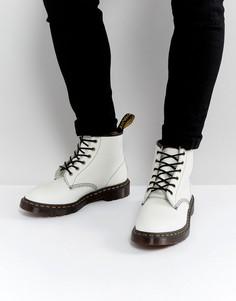 Ботинки с 101 парами люверсов Dr Martens 101 Arc - Белый