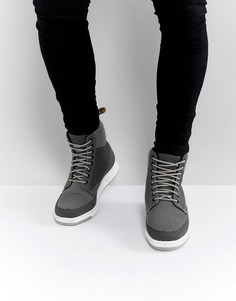 Ботинки с 8 парами люверсов Dr Martens Lite Rigal - Серый