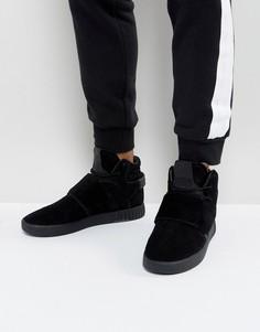 Черные кроссовки adidas Originals Tubular Invader BY3632 - Черный