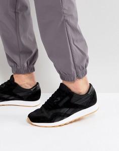 Черные кроссовки из нейлона и кожи Reebok Classic HS BD6002 - Черный