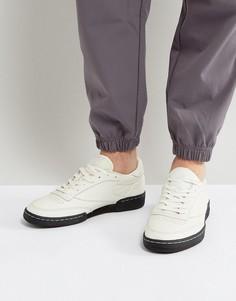 Белые кроссовки Reebok Club C 85 NP BS7683 - Белый