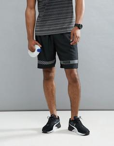 Черные шорты Puma Running Active Tec 59253551 - Черный