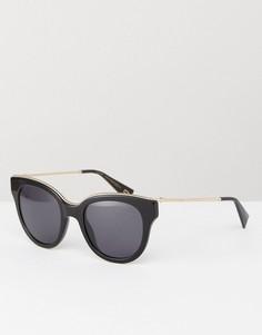 Черные солнцезащитные очки кошачий глаз Marc Jacobs - Черный