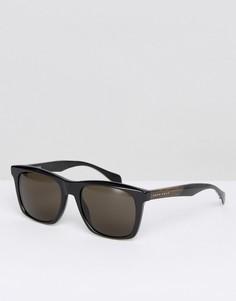 Черные квадратные солнцезащитные очки BOSS By Hugo Boss - Черный