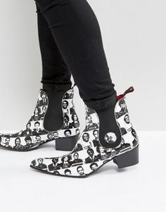 Белые ботинки челси Jeffery West - Белый