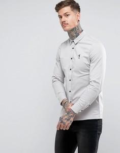 Узкая эластичная рубашка Religion - Бежевый