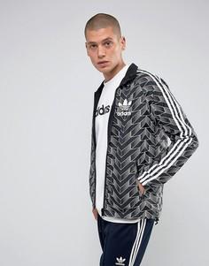 Черная двусторонняя ветровка adidas Originals BS4894 - Черный