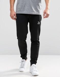 Трикотажные штаны Puma Leisure - Черный