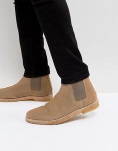 Замшевые ботинки челси KG Kurt - Светло-серый