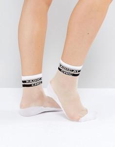 Полупрозрачные носки Monki Radical Chic - Мульти
