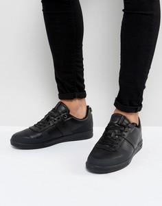 Черные кроссовки из искусственной кожи Jack & Jones Kleen - Темно-синий