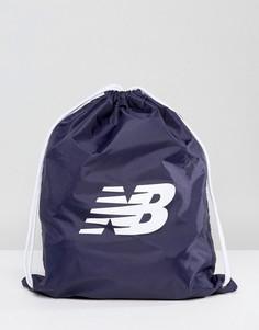 Темно-синий спортивный рюкзак New Balance NB500006-400 - Темно-синий