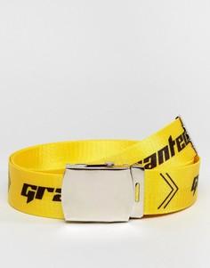 Ремень Granted - Желтый