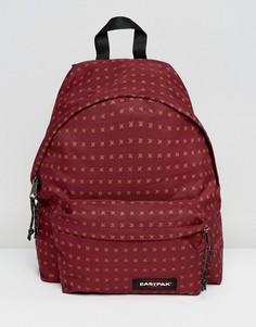 Рюкзак с уплотнением и принтом крестов Eastpak PakR - Коричневый