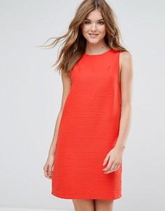 Свободное платье без рукавов Lavand - Красный