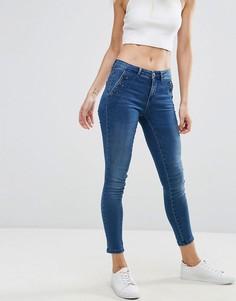 Зауженные джинсы Only - Синий